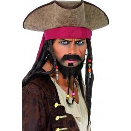 Tricorne Déguisement Pirate des Caraibes