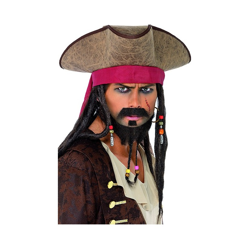Maquillage pirate des caraibes homme - Maquillage pirate homme ...