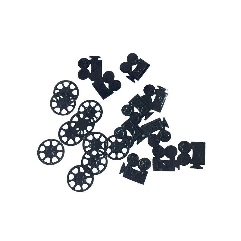 140 confettis cam ra bobine de film d coration de cin ma