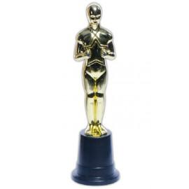 Statue Trophée César plastique or