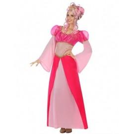 Déguisement Femme Princesse Rose