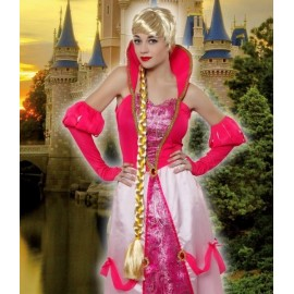 Perruque Blonde Princesse Raiponce