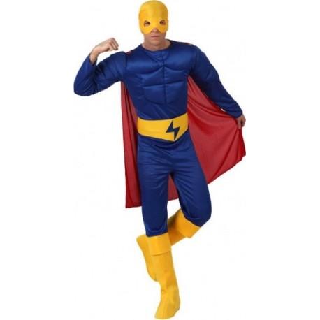 Déguisement Homme Héro Musclé Flash