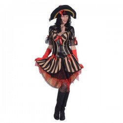 Costume Luxe Femme Pirate Baroque