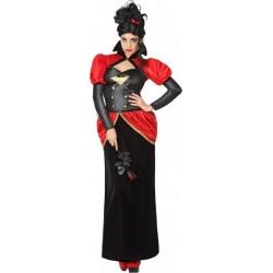 Déguisement Femme Vampire Baroque