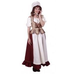 Costume Paysanne Médiévale Luxe
