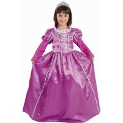 Déguisement Fille Princesse Violette