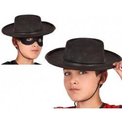Chapeau Espagnol Zorro Enfant