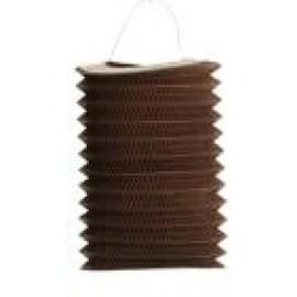 LAMPION Papier LANTERNE Chocolat