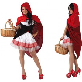 Déguisement Petit Chaperon Rouge Femme