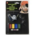 Kit Maquillage de Pirate