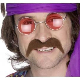 Moustache Chatain Disco