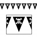 Guirlande 8 Fanions Pirate