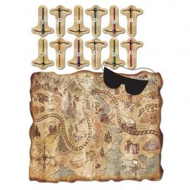 Jeu Carte aux Trésors Mine d'Or