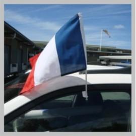 Drapeau voiture FRANCAIS