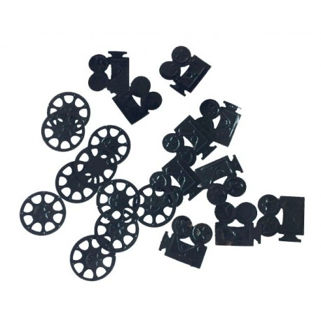 Confettis CAMERA BOBINE FILM CINEMA