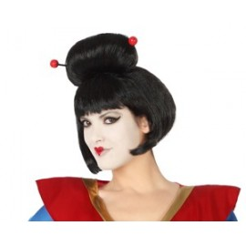 Perruque Geisha Déguisement Femme