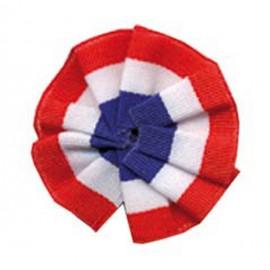 Cocarde Tissu Tricolore