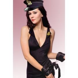 Déguisement Coquin Policière