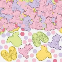 Confettis Baptême Fille