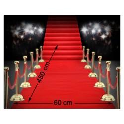 Tapis Cinéma Rouge 4,50 mètres