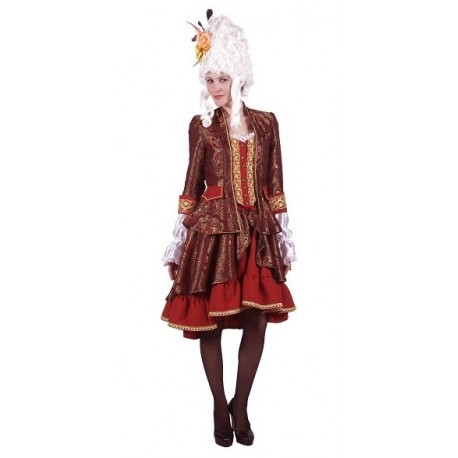 Costume Femme Marquise Baroque Luxe