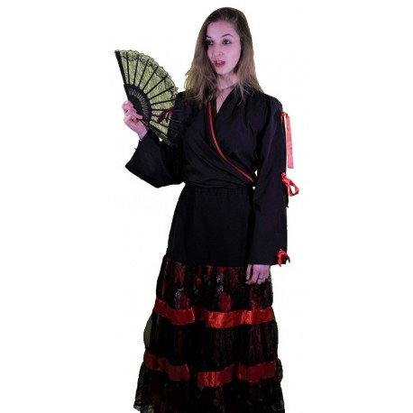 Costume Luxe Flamenco Femme