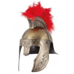 Casque Centurion Crête Rouge