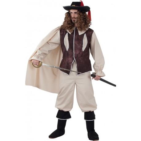 Déguisement Homme Mousquetaire d'Artagnan