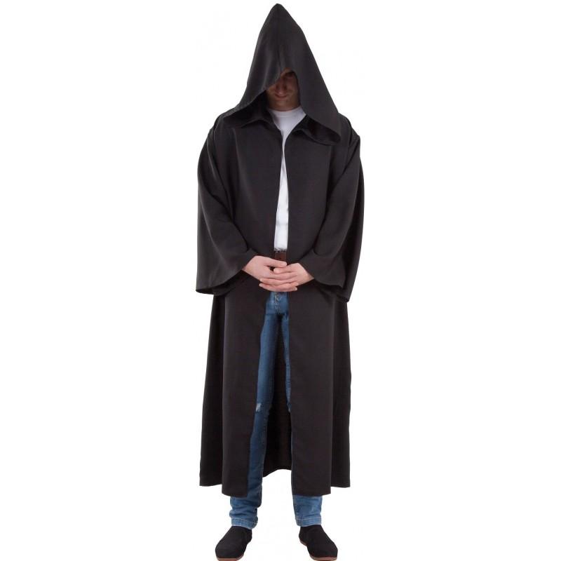 acheter maintenant profiter du prix le plus bas produits chauds Cape Noire Capuche Jedi