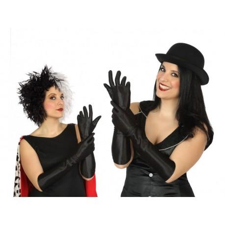 Gants Noir Longs 40cm