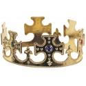 Couronne Dorée de Roi Médiéval