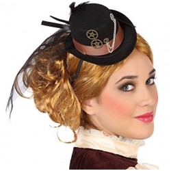 Mini Chapeau Femme Steampunk