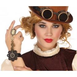 Bracelet Bague Steampunk Femme