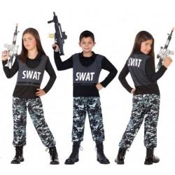 Déguisement Enfant Policier SWAT