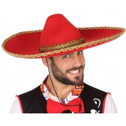 Sombrero Rouge Mexicain