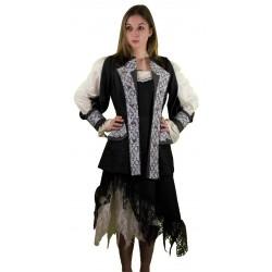 Costume Luxe Pirate Elégante Femme