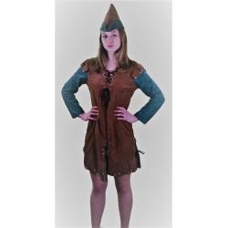 Costume Femme Robin des Bois Luxe
