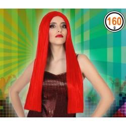 Perruque Longue Rouge 60cm