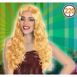 Perruque Longue Blonde ondulée 60cm
