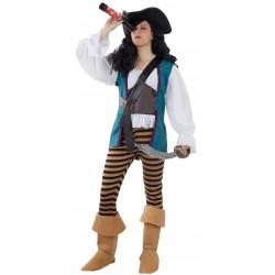 Déguisement Femme Pirate Pantalon