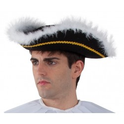 Tricorne Pirate Marquis Homme