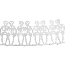 Guirlande Squelettes Blanc