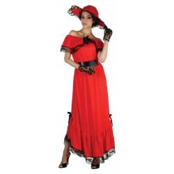 Déguisement Scarlett Rouge Femme
