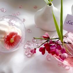 500 Perles de Pluie Rose