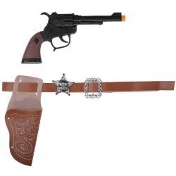 Ceinture Holster Pistolet de Cowboy