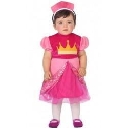 Déguisement Bébé Princesse Rose