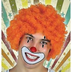 Perruque Orange Afro