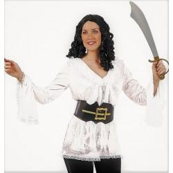 Chemisier Blanc de Mousquetaire Femme