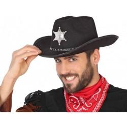 Chapeau Noir de Shérif
